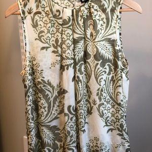 DKNY Silk Sleeveless Blouse